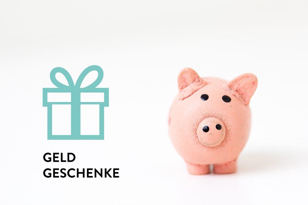 mySMILE Geldgeschenke